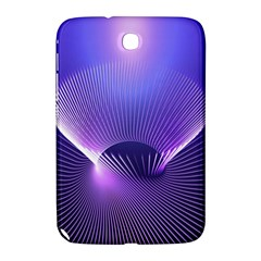 Abstract Fractal 3d Purple Artistic Pattern Line Samsung Galaxy Note 8.0 N5100 Hardshell Case