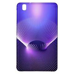 Abstract Fractal 3d Purple Artistic Pattern Line Samsung Galaxy Tab Pro 8.4 Hardshell Case