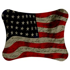 Vintage American flag Jigsaw Puzzle Photo Stand (Bow)