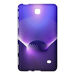 Abstract Fractal 3d Purple Artistic Pattern Line Samsung Galaxy Tab 4 (8 ) Hardshell Case