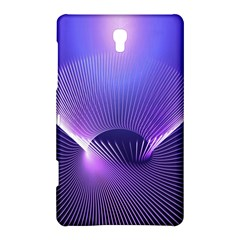 Abstract Fractal 3d Purple Artistic Pattern Line Samsung Galaxy Tab S (8.4 ) Hardshell Case