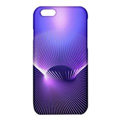 Abstract Fractal 3d Purple Artistic Pattern Line iPhone 6/6S TPU Case