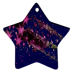 Stars Abstract Shine Spots Lines Ornament (star)