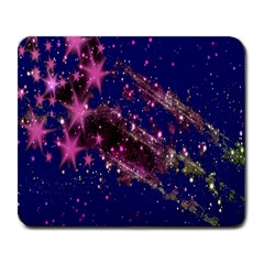 Stars Abstract Shine Spots Lines Large Mousepads