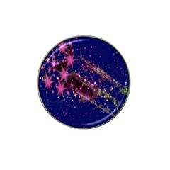 Stars Abstract Shine Spots Lines Hat Clip Ball Marker (10 Pack)