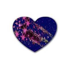 Stars Abstract Shine Spots Lines Heart Coaster (4 Pack)
