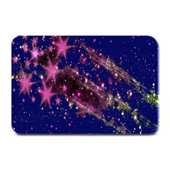 Stars Abstract Shine Spots Lines Plate Mats