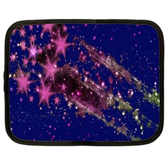 Stars Abstract Shine Spots Lines Netbook Case (XXL)