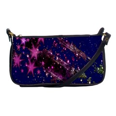 Stars Abstract Shine Spots Lines Shoulder Clutch Bags