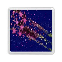Stars Abstract Shine Spots Lines Memory Card Reader (square)
