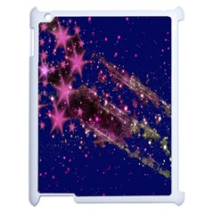 Stars Abstract Shine Spots Lines Apple iPad 2 Case (White)