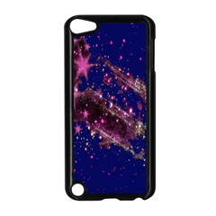Stars Abstract Shine Spots Lines Apple iPod Touch 5 Case (Black)