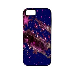 Stars Abstract Shine Spots Lines Apple iPhone 5 Classic Hardshell Case (PC+Silicone)