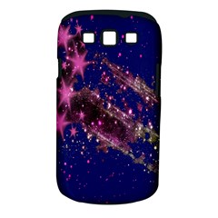 Stars Abstract Shine Spots Lines Samsung Galaxy S III Classic Hardshell Case (PC+Silicone)