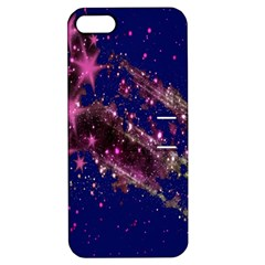 Stars Abstract Shine Spots Lines Apple iPhone 5 Hardshell Case with Stand