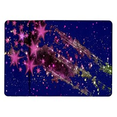 Stars Abstract Shine Spots Lines Samsung Galaxy Tab 10.1  P7500 Flip Case