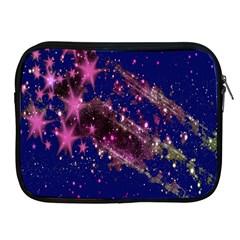 Stars Abstract Shine Spots Lines Apple iPad 2/3/4 Zipper Cases