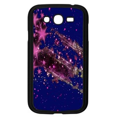 Stars Abstract Shine Spots Lines Samsung Galaxy Grand DUOS I9082 Case (Black)