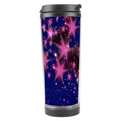 Stars Abstract Shine Spots Lines Travel Tumbler