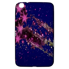 Stars Abstract Shine Spots Lines Samsung Galaxy Tab 3 (8 ) T3100 Hardshell Case