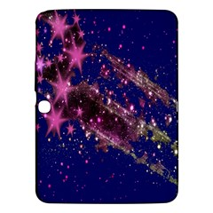 Stars Abstract Shine Spots Lines Samsung Galaxy Tab 3 (10 1 ) P5200 Hardshell Case