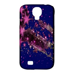 Stars Abstract Shine Spots Lines Samsung Galaxy S4 Classic Hardshell Case (PC+Silicone)