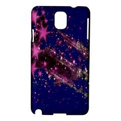 Stars Abstract Shine Spots Lines Samsung Galaxy Note 3 N9005 Hardshell Case