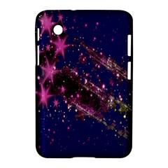Stars Abstract Shine Spots Lines Samsung Galaxy Tab 2 (7 ) P3100 Hardshell Case