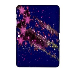 Stars Abstract Shine Spots Lines Samsung Galaxy Tab 2 (10.1 ) P5100 Hardshell Case