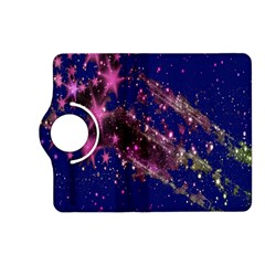 Stars Abstract Shine Spots Lines Kindle Fire HD (2013) Flip 360 Case
