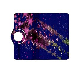 Stars Abstract Shine Spots Lines Kindle Fire HDX 8.9  Flip 360 Case
