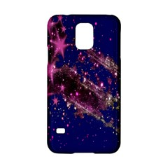 Stars Abstract Shine Spots Lines Samsung Galaxy S5 Hardshell Case