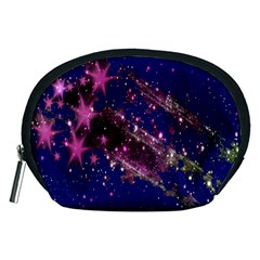 Stars Abstract Shine Spots Lines Accessory Pouches (Medium)