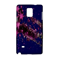 Stars Abstract Shine Spots Lines Samsung Galaxy Note 4 Hardshell Case