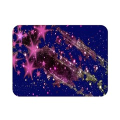 Stars Abstract Shine Spots Lines Double Sided Flano Blanket (Mini)