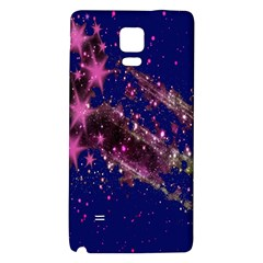 Stars Abstract Shine Spots Lines Galaxy Note 4 Back Case