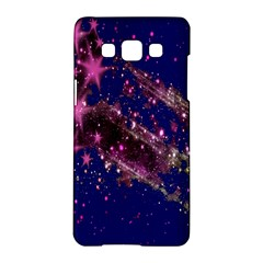 Stars Abstract Shine Spots Lines Samsung Galaxy A5 Hardshell Case