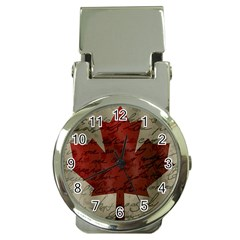 Canada flag Money Clip Watches