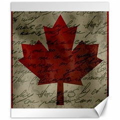 Canada flag Canvas 20  x 24