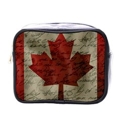 Canada flag Mini Toiletries Bags