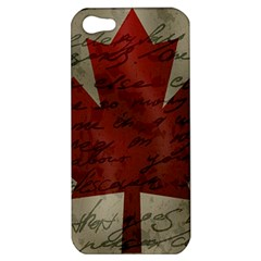Canada flag Apple iPhone 5 Hardshell Case
