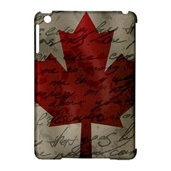 Canada flag Apple iPad Mini Hardshell Case (Compatible with Smart Cover)
