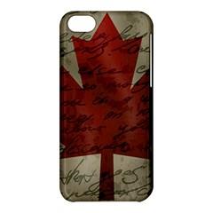 Canada flag Apple iPhone 5C Hardshell Case
