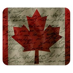 Canada flag Double Sided Flano Blanket (Small)