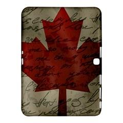 Canada flag Samsung Galaxy Tab 4 (10.1 ) Hardshell Case
