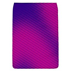 Retro Halftone Pink On Blue Flap Covers (l)