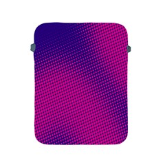 Retro Halftone Pink On Blue Apple iPad 2/3/4 Protective Soft Cases