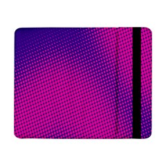 Retro Halftone Pink On Blue Samsung Galaxy Tab Pro 8.4  Flip Case