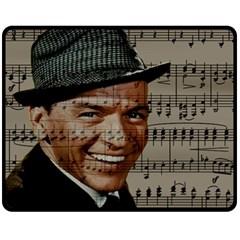 Frank Sinatra  Fleece Blanket (Medium)