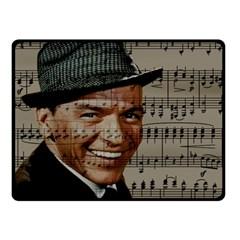 Frank Sinatra  Double Sided Fleece Blanket (Small)